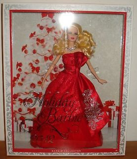 2012 HOLIDAY BARBIE ♥ CHRISTMAS COLLECTOR DOLL ♥ MIB NRFB