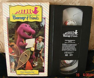 BARNEY Time Life Collection FOUR SEASONS DAY RARE HTF VIDEO VHS #14