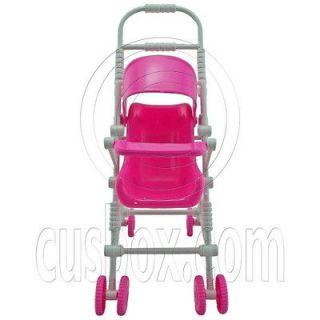 Baby New Stroller 1/6 Barbie Kelly Dolls House Dollhouse Furniture