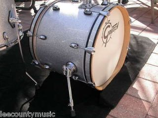 CATALINA CLUB JAZZ 18 SILVER SPARKLE BASS DRUM for SET LOT #R84