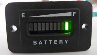 Golf Cart, Boat, Battery Indicator, 48 Volt Rect