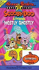 SCOOBY DOO & FRIENDS MOSTLY GHOSTLY VHS HANNA BARBERA SUPER STARS