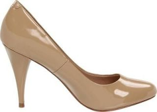 Womens Shoes Steve Madden UNITYY Pump Classic BLUSH Patent Beige