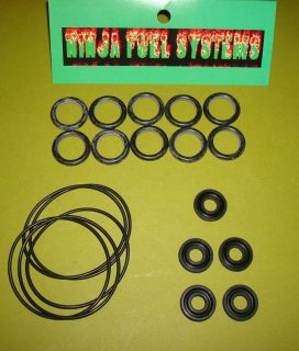 REBUILDER 5 PK SEAL KITS FOR BARRY GRANT BG400 BG 400 FUEL PUMPS