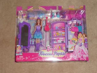 NEW, BARBIE THE PRINCESS & THE POPSTAR MINI KEIRA DOLL SET