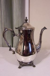 Newly listed Silver Plated International Silver Company Coffee Pot