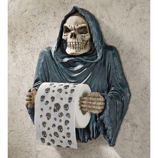 Reaper Bath Tissue Holder Gothic Toilet Paper Holder Bathroom Decor
