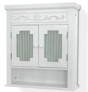 New Lisbon Bathroom Wall Storage Cabinet   White
