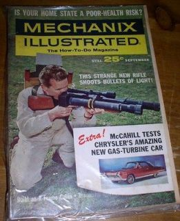 MECHANIX ILLUSTRATED MAGAZINE   September 1963   Build an A Frame