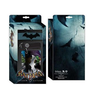 BATMAN JOKER OFFICIAL ARKHAM ASYLUM CHAIN WALLET RUBBER WRITSBAND SET