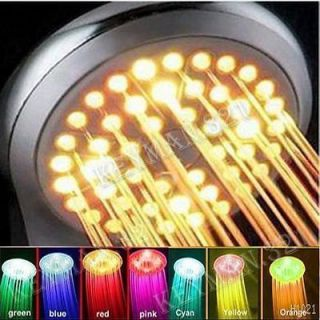 COLORS LED HEAD SHOWER FAUCET WATER BATHROOM TA Brand New Fashion