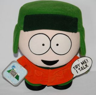 South Park Comedy Central 1998 Plush 11 Talking Kyle Doll Fun 4 All w