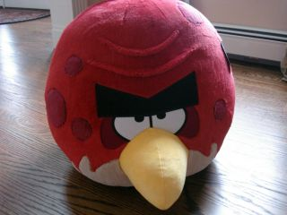 OFFICIAL ANGRY BIRDS PLUSH 16 BIG BROTHER BRO RED BIRD WITH SOUND