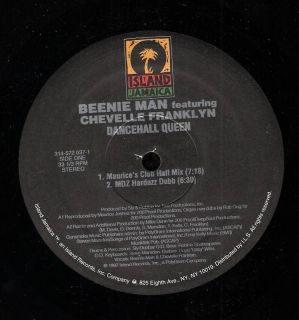 BEENIE MAN   DANCEHALL QUEEN f.Chevelle Franklyn 6 mixs