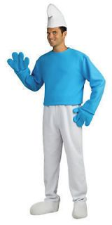 NEW Mens Costume Smurf 5pc XLarge Licensed 46 52 ON SALE!!