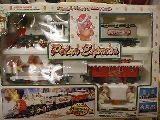 NEW, POLAR EXPRESS CHRISTMAS TRAIN Set/ Battery Operated/