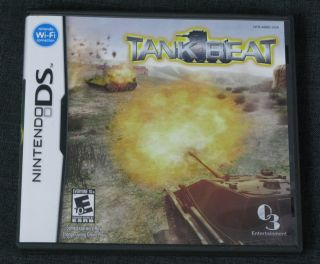 NINTENDO DS GAME, TANK BEAT, INCLUDES BOOKLET AND CASE, 1 4 PLAYERS