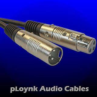 NEW Premium High quality Ploynk Audio Balanced XLR cable custom patch