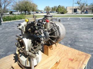 SOLAR T62T11 GAS TURBINE ENGINE, T62 JET ENGINE, PRICE REDUCED, MUST