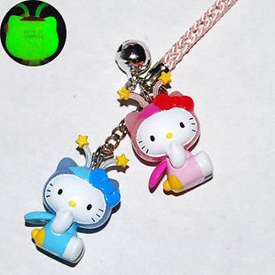 Luminous Mobile Phone Strap Charm   Hello Kitty HK344