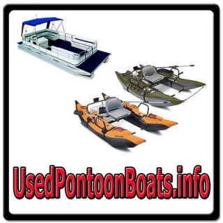 Used Pontoon Boats.info ONLINE WEB DOMAIN FOR SALE/FISHING/INFLATABLE