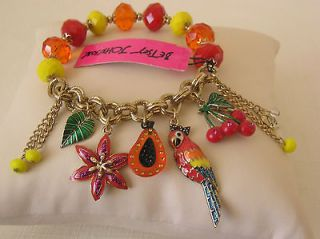 betsey johnson jewelry in Charms & Charm Bracelets
