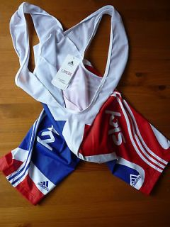 GREAT BRITAIN CYCLING /SKY BIB SHORTS SMALL (size 2) BRAND NEW WITH