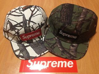 SUPREME 2012 F/W TREE CAMO BOX LOGO CAMO CAMP CAP SAFARI DONEGAL KATE