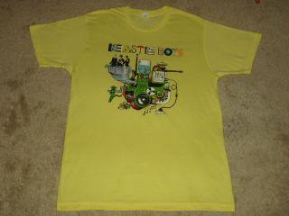 Beastie Boys Machine M, L, XL Yellow T Shirt
