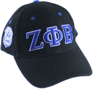 Zeta Phi Beta Sorority 3 Letter Low Profile Ladies Cap