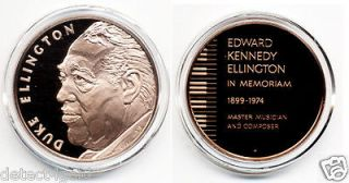 Big Band Jazz Music Legend Edward Kennedy Duke Ellington Bronze