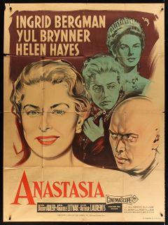 ANASTASIA 1956 Original Ingrid Bergman Yul Brynner R. Geleng Epic