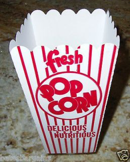 New POPCORN Snack Boxes/Tubs/Containers for Treat Parties/Home Theater