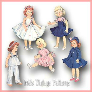 Vintage Doll Clothes Pattern ~ 14 Betsy McCall