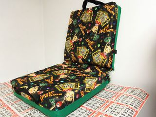 BINGO CUSHION SALE $19.99   BETTY BOOP #1 BINGO DESIGN IN GREEN