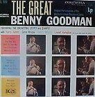 BENNY GOODMAN GENE KRUPA HARRY JAMES TEDDY WILSON+ ++LP