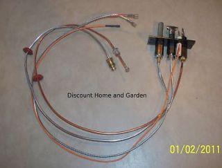 Heat n Glo Heatilator Direct Vent Fireplace Propane Gas Pilot Assembly