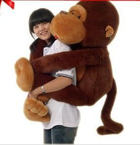 pic 31GIANT HUGE BIG STUFFED ANIMAL SOFT MONKEY TOYS 80CM PROMOTION