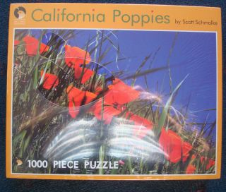 jigsaw puzzle Scott Schmolke California Poppies 1000 pcs Ca State