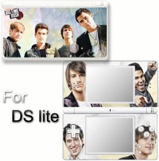 BIG TIME RUSH BTR Porpular SKIN COVER DECAL STICKER for DS Lite