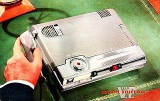 SCARCE THOMAS EDISON VP VOICEWRITER VINTAGE ADVERTISING HARTFORD CT