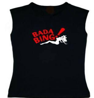 Bada Bing Strip Club Sopranos Sleeveless Tank Top