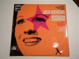 JULIE ANDREWS STAR SOUNDTRACK RECORD ALBUM SIGNED BY RICHARD CRENNA