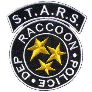 RESIDENT EVIL S.T.A.R.S. RACCOON CITY POLICE LOGO STARS UNIFORM VELCRO