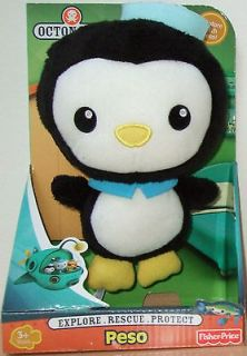 BNIB OCTONAUTS TOYS PESO SOFT TEDDY PLUSH EXPLORE WITH PESO! AGE 3+
