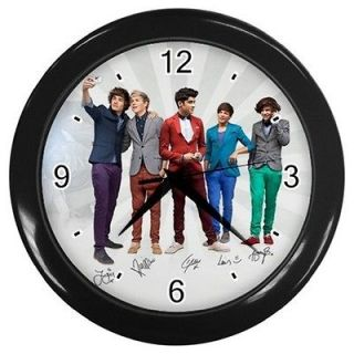 One Direction Irish Boys Band Blacks 10 Wall Clocks