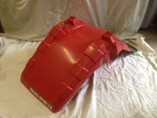85 86 Honda ATC 250ES BIG RED 250 ES ~ OEM FRONT FENDER MUD FLAP