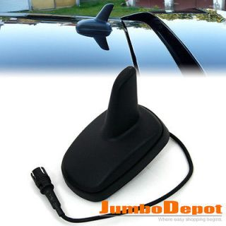 US VW Roof Black Shark Fin Design Aerial Antenna Jetta Passat Golf