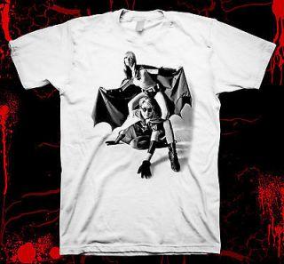 Nico & Andy Warhol   Batman & Robin  Velvet Undergroun 100% cotton