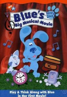BLUES CLUES BLUES BIG MUSICAL MOVIE [DVD NEW]